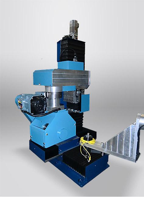 TR+CNCR Tavola rotante a scatti con unità di pulitura CNCR